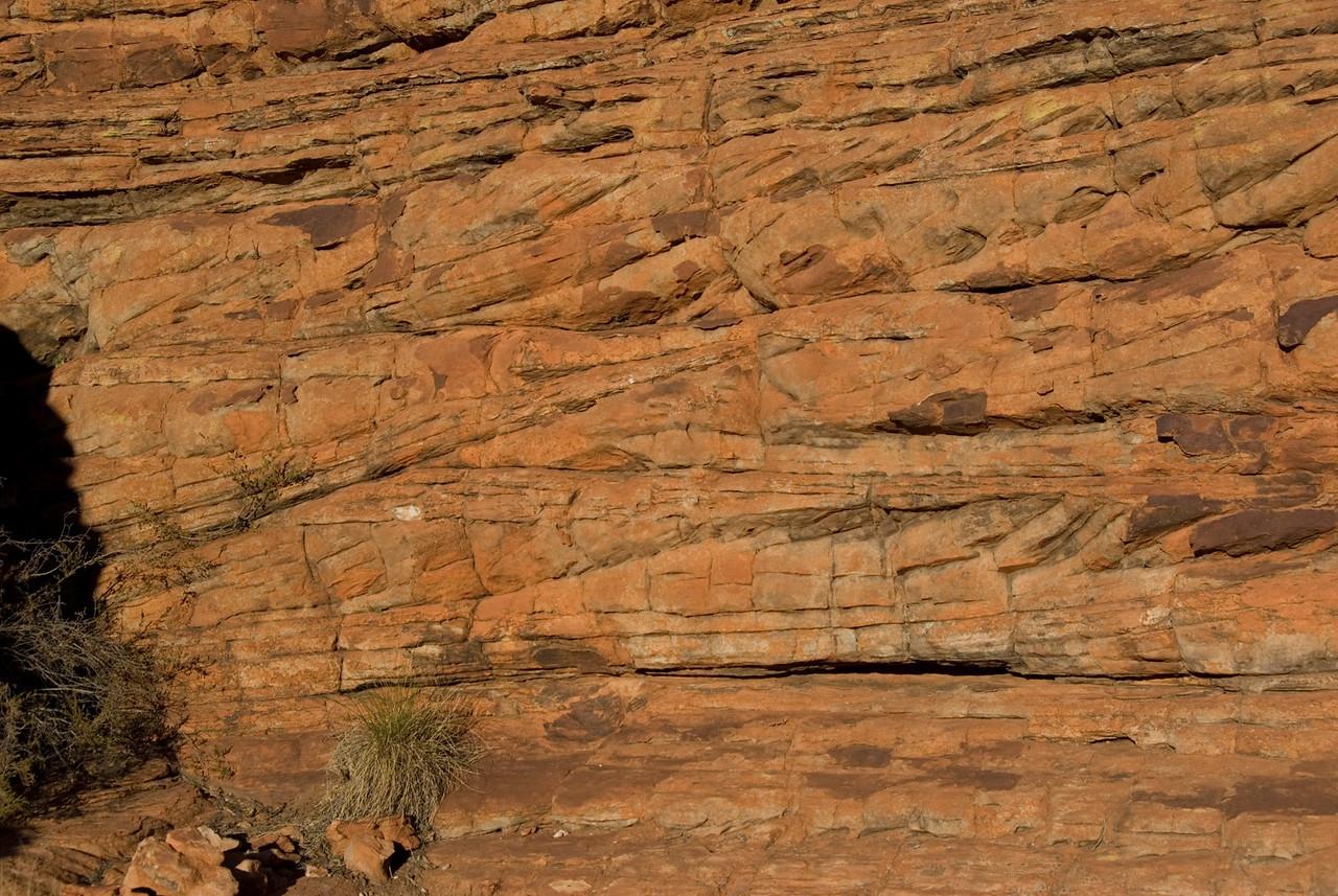 Cross Bedding Kings Canyon  - Northern Territory, Australia