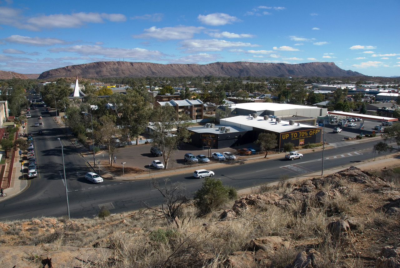 Alice Springs from ANZAC Hill 1 - Northern Territory, Australia
