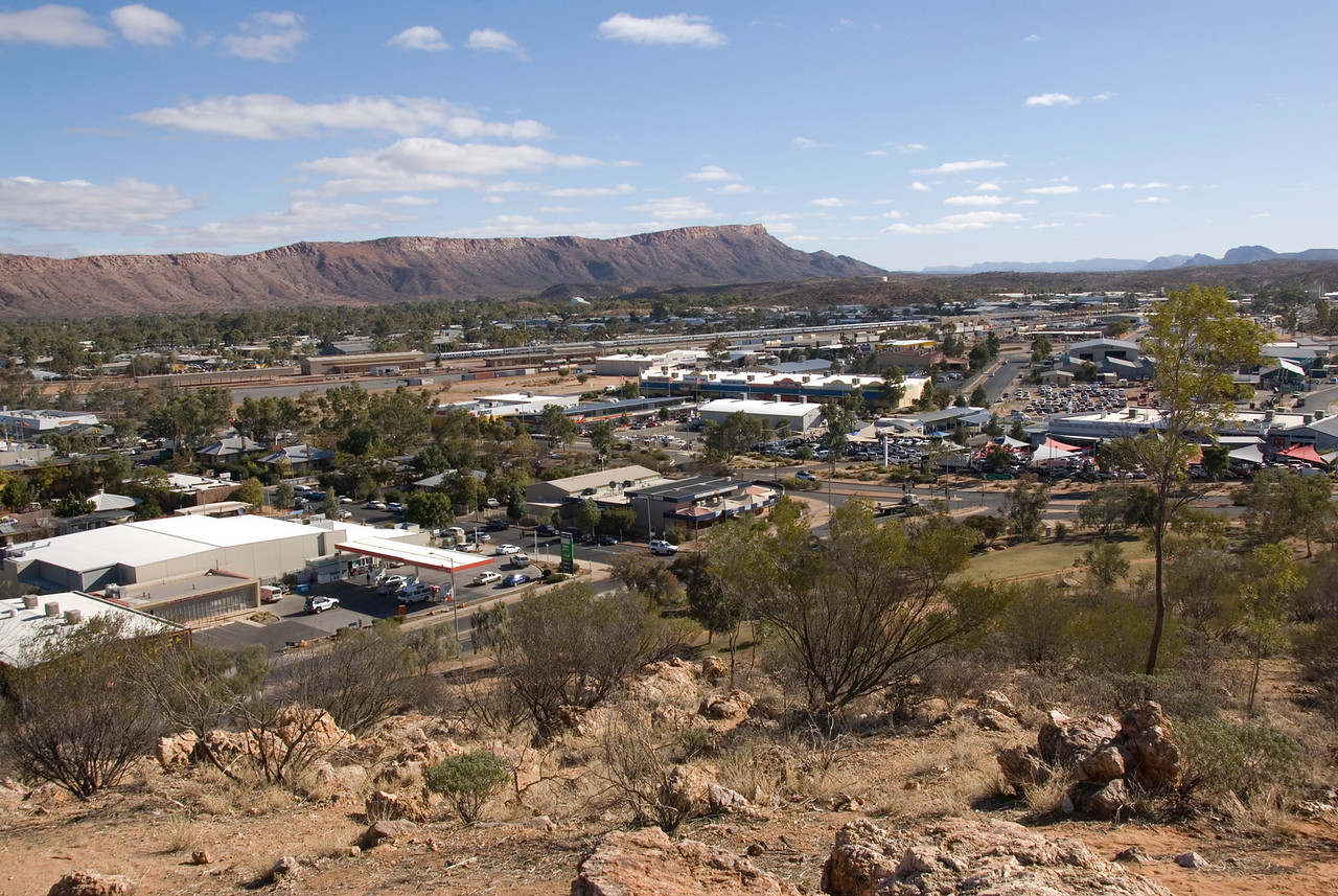 Alice Springs from ANZAC Hill 3 - Northern Territory, Australia