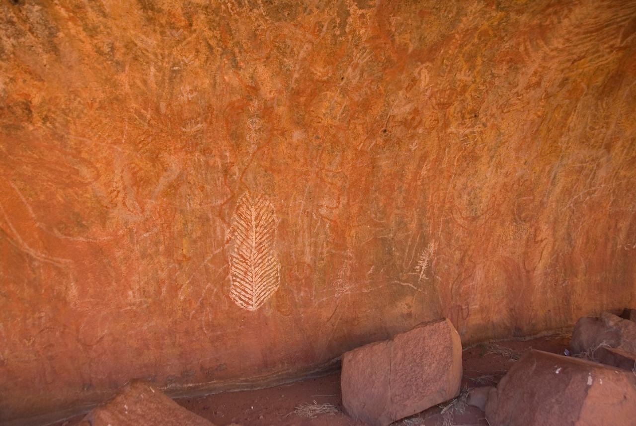 Rock Art Uluru 2 - Northern Territory, Australia