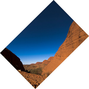 Kata Tjuta 45 Degree Angle - Northern Territory, Australia