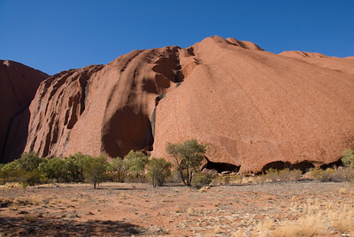 Erosional Pools Uluru - Northern Territory, Australia