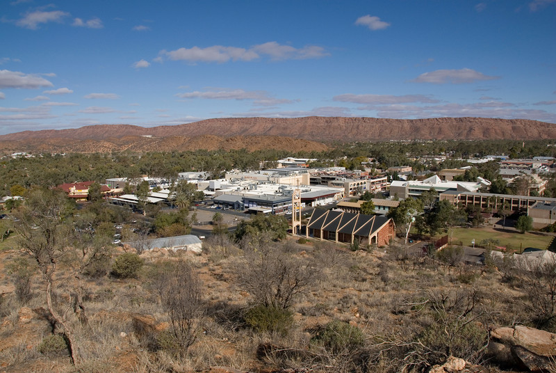 Alice Springs from ANZAC Hill 4 - Northern Territory, Australia