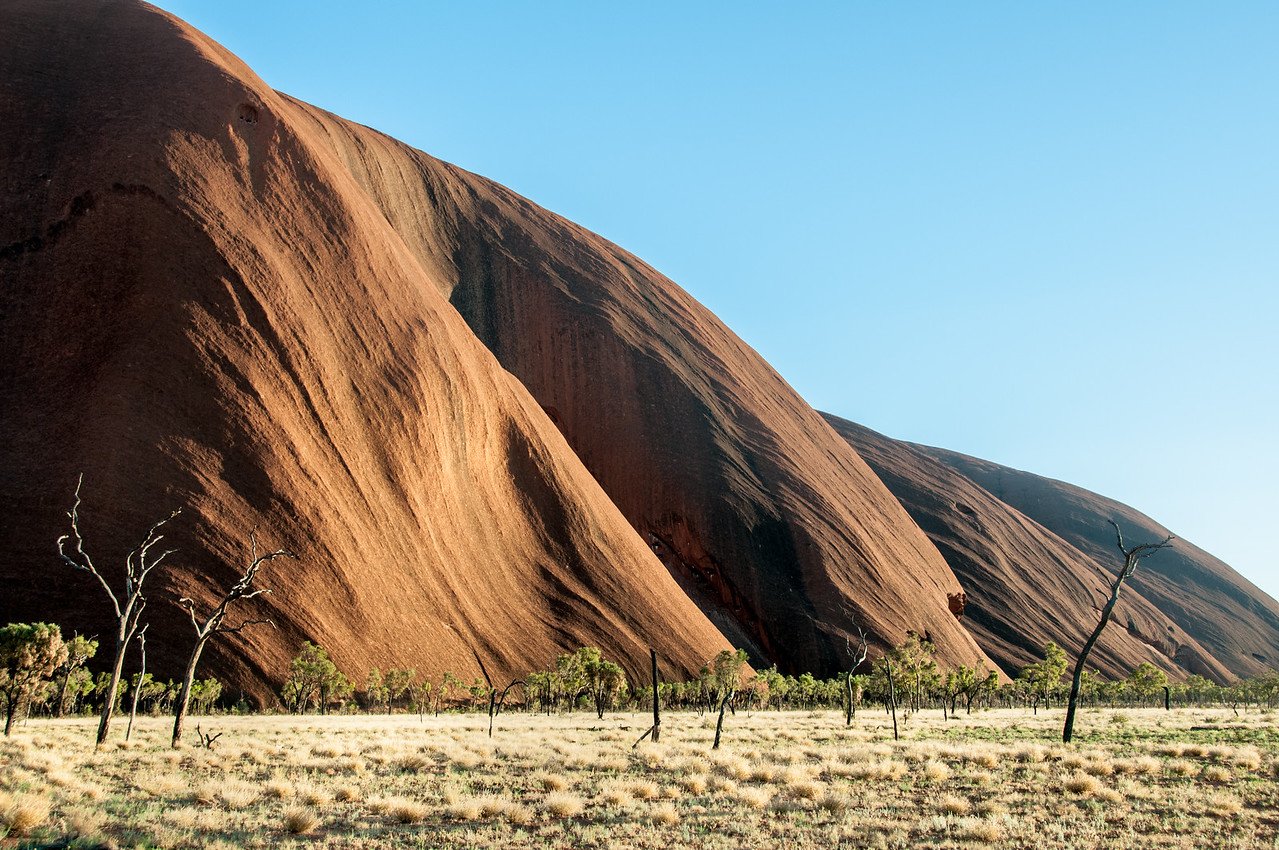 Rock formation in Uluru National Park, Northern Territory, Australia