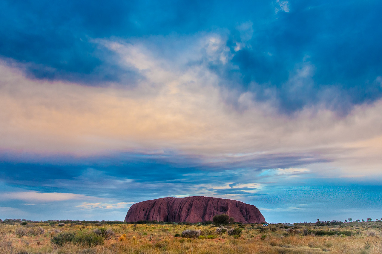Uluru National Park in Northern Territory, Australia