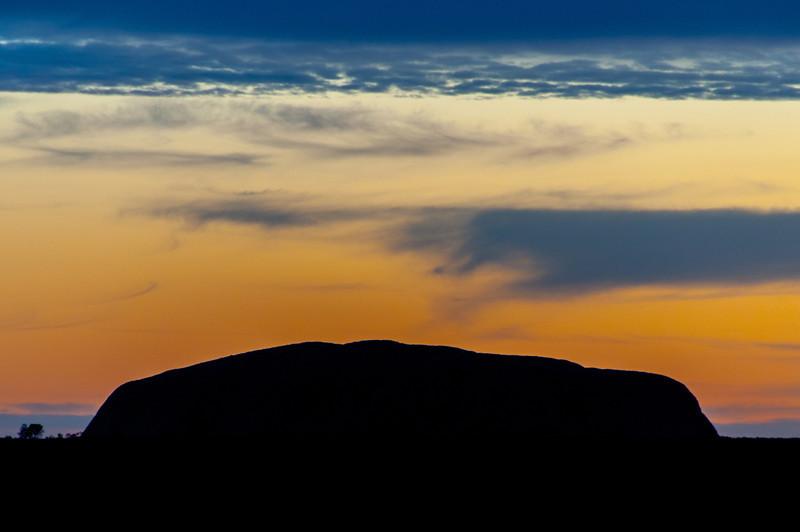 Uluru National Park in Northern Territory, Australia