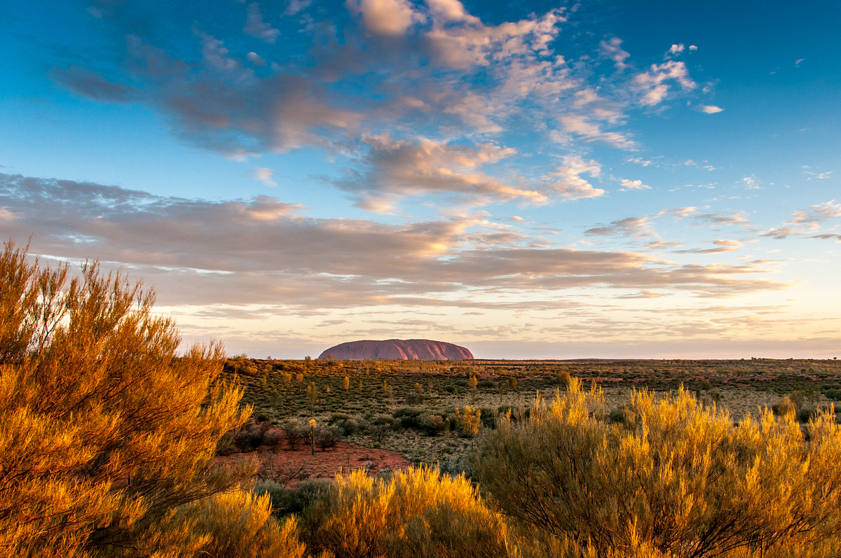 The Many Faces of Uluru