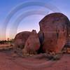 AUOU02 Devils Marble Sunrise Panorama