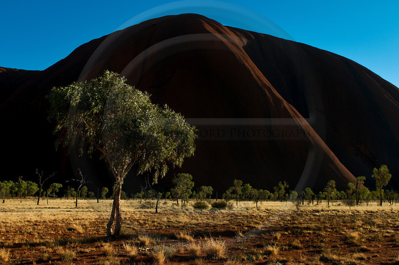 East Side of the Rock - Uluru