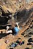 "Dan about to ""Snatch & Grab"" (20), Werribee Gorge, Victoria, Australia"