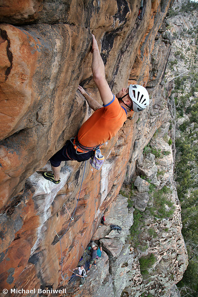 Ramond Francis on Emphysema (25), Ruined Castle, Grampians, Victoria, Australia