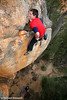 Adam Demmert on the FFA of Insha'Allah (27), Red Rocks, Grampians, Victoria, Australia