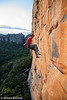 Will Monks Whips Off Mirage (27), Taipan Wall. Grampians, Victoria, Australia