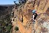 Dan on Big Ears (16), Werribee Gorge, Victoria, Australia