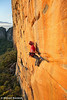Will Monks Launches on Mirage (27), Taipan Wall, Grampians, Victoria, Australia