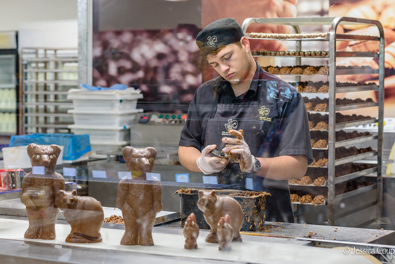 Margaret River Chocolate Factory Worker