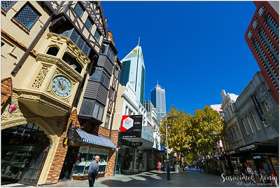 London Court, Hay Street Mall in Perth, Western Australia