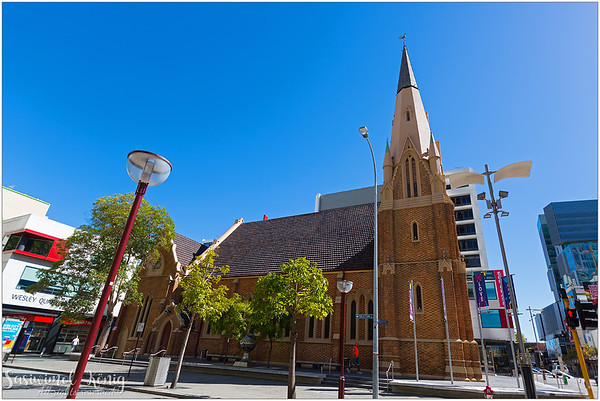 Wesley Church in the City of Perth, Western Australia