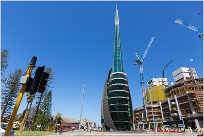 The Swan Bell Tower in Perth, Western Australia