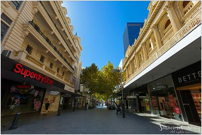 Hay Street Mall in Perth, Western Australia
