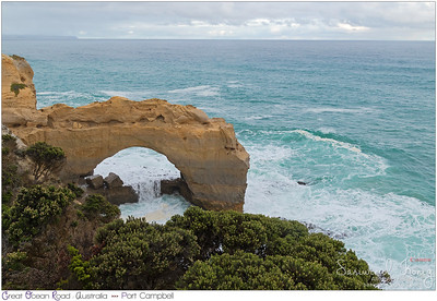 The Arch, at Port Campbell National Park, Victoria, Australia