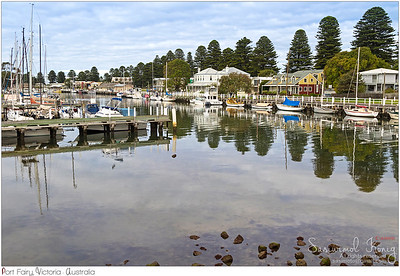 Port Fairy, a coastal town in Victoria