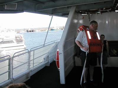 5  Ferry Hervey Bay to Fraser Island