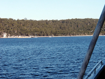 15  Ferry Hervey Bay to Fraser Island