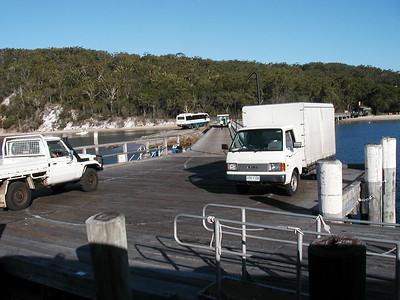 17  Arriving Fraser Island