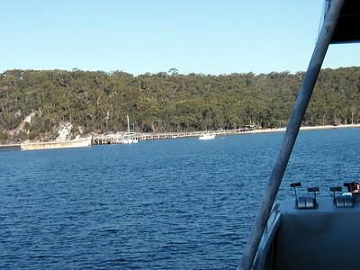16  Arriving Fraser Island
