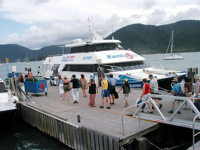 05   Ferry Shute Harbour to Hamilton Island