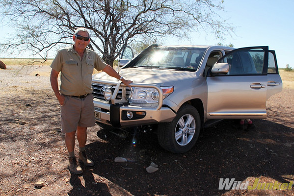 Rod and his 4WD