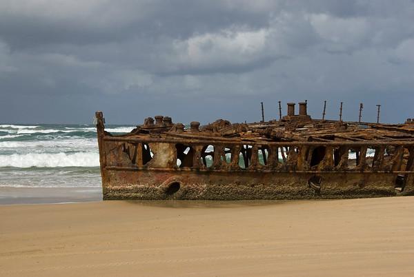 Shipwreck 6, Fraser Island - Queensland, Australia