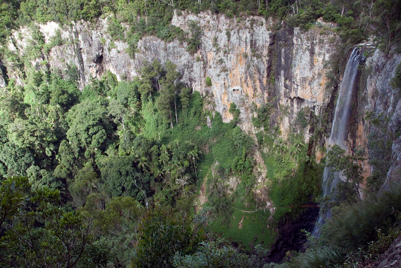 Waterfall 3, Springbrook National Park - Queensland, Australia