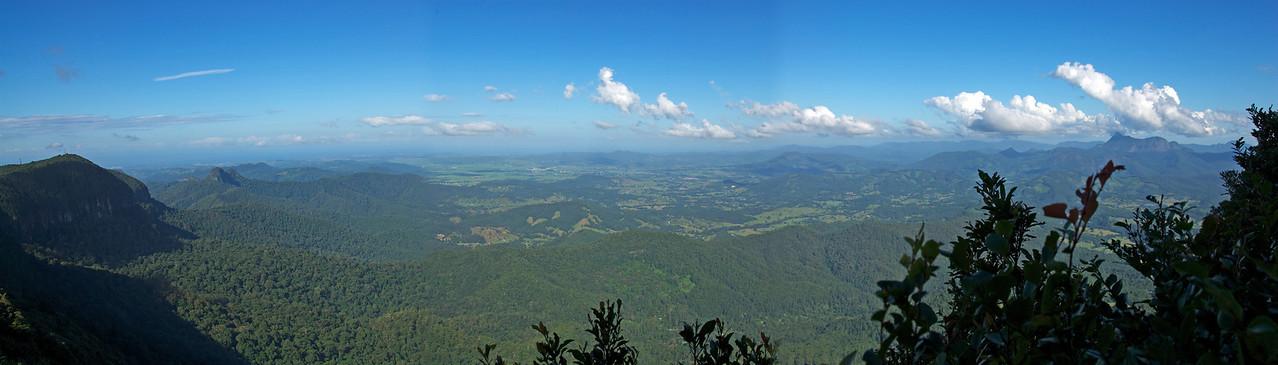 Panorama, Springbrook National Park - Queensland, Australia