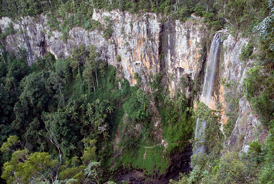 Waterfall 2, Springbrook National Park - Queensland, Australia