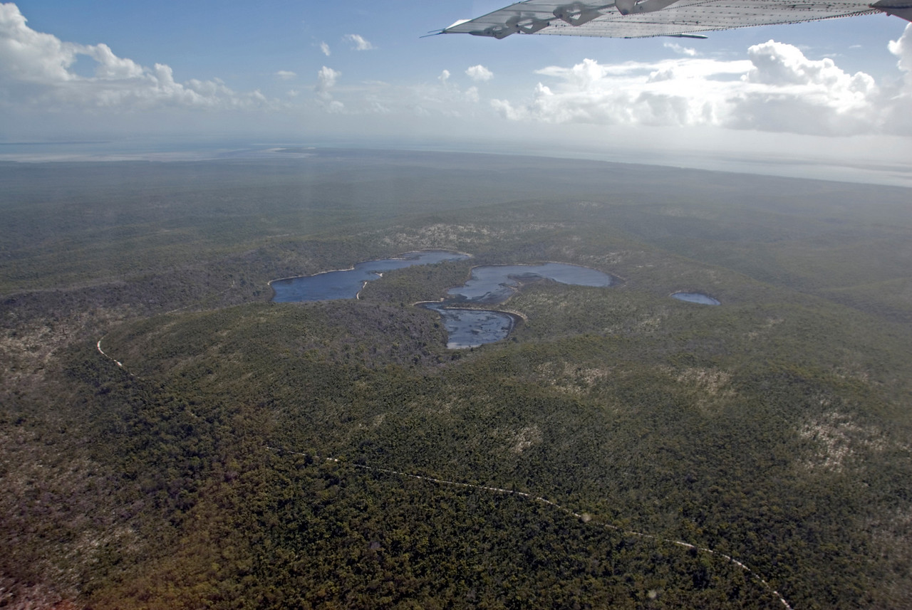 Lakes and Wing, Fraser Island - Queensland, Australia