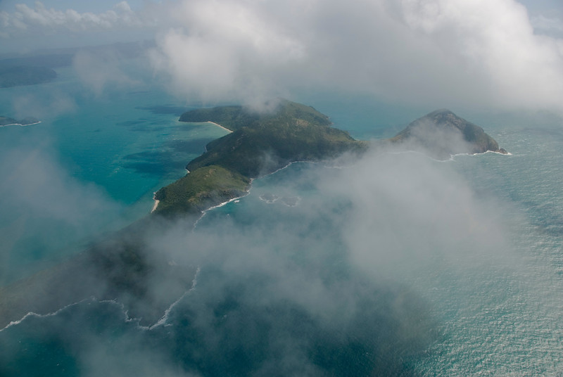 Aerial, Whitsunday Islands - Queensland, Australia