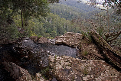 Top of Waterfall 2, Springbrook National Park - Queensland, Australia