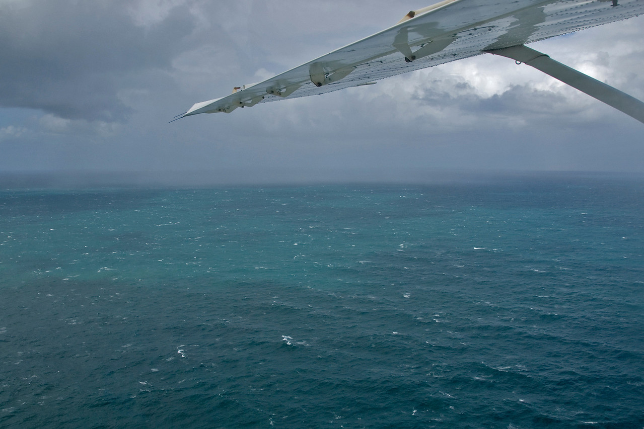 Storm Clouds and Wing, Fraser Island - Queensland, Australia