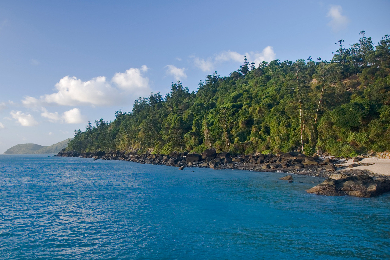 Coastline, Whitsunday Islands - Queensland, Australia