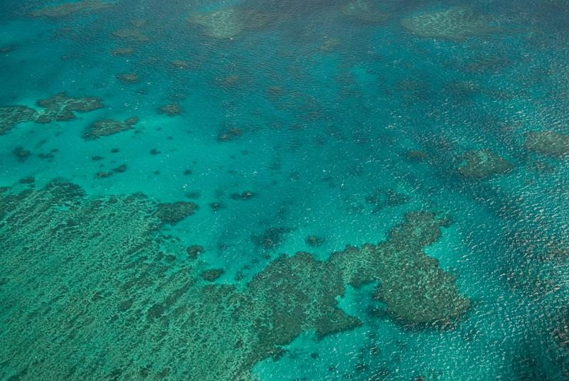Great Barrier Reef Aerial 1, Whitsunday Islands - Queensland, Australia