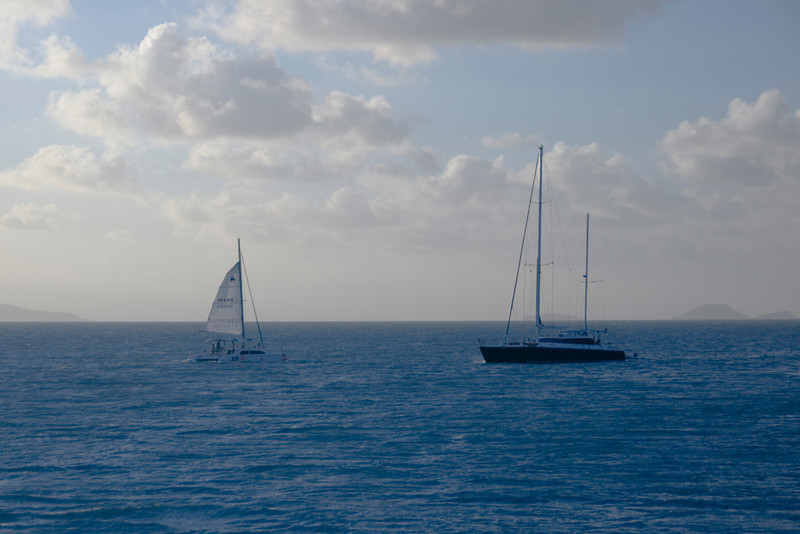 Sailboats, Whitsunday Islands - Queensland, Australia