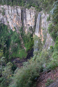Waterfall 1, Springbrook National Park - Queensland, Australia