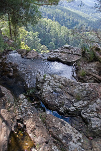 Top of Waterfall 3, Springbrook National Park - Queensland, Australia