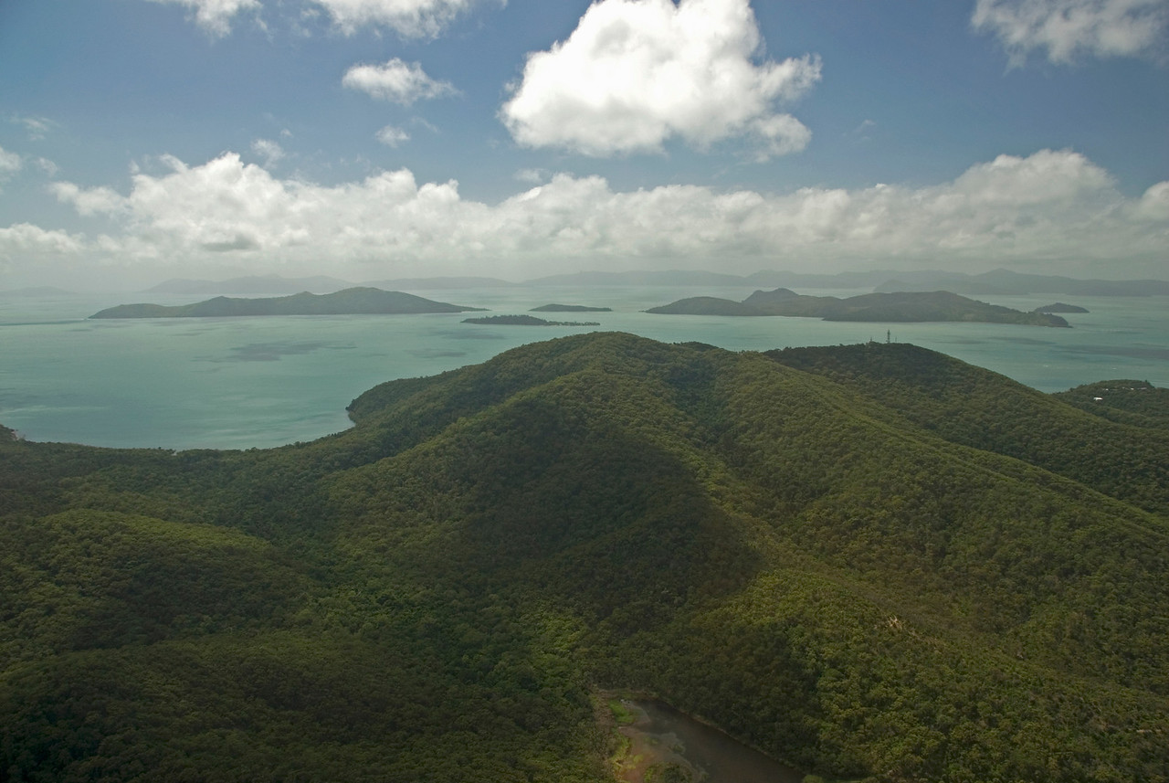 Aerial 1, WhitSunday Islands - Queensland, Australia