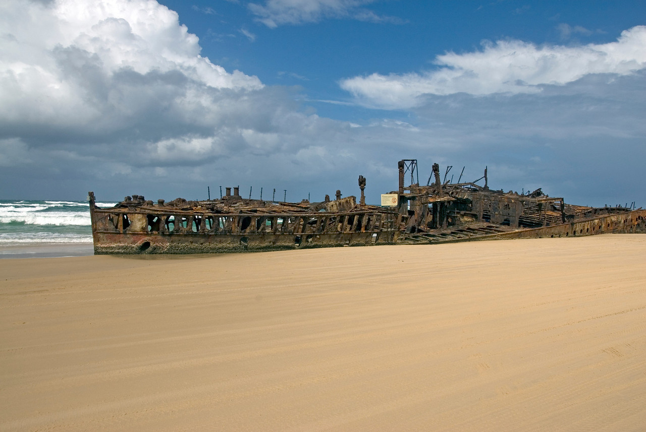 Shipwreck 5, Fraser Island - Queensland, Australia