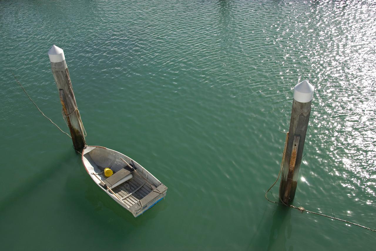 Row boat At Dock, Fraser Island - Queensland, Australia.jpg