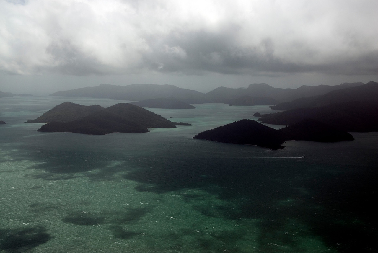 Aerial 2, WhitSunday Islands - Queensland, Australia
