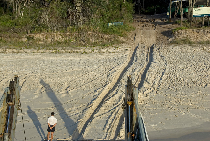 Ferry at Beach, Fraser Island - Queensland, Australia.jpg